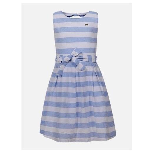 1e5bac1661d9 Harper s Biele pásikavé dievčenské šaty Pepe - Glami.sk