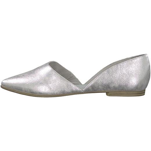 5565eb7f2d s.Oliver Dámske baleríny Silver 5-5-24210-22-941 - Glami.sk