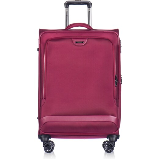 083416d706 PUCCINI Cestovné kufre na kolieskach veľké 122 litrov červený puc-03-9-099-k02