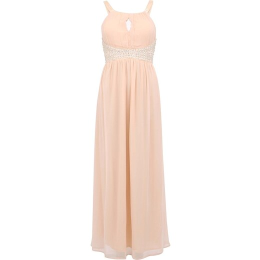 2e8cfd60990b Lososově růžové zdobné šaty AX Paris - Glami.cz