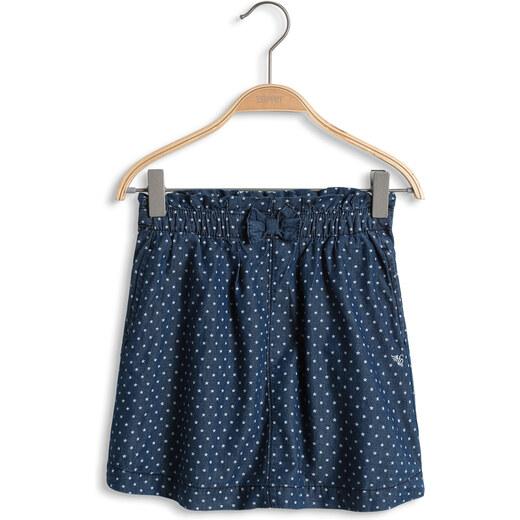 Esprit Džínová sukně s hvězdami b849cdf81a