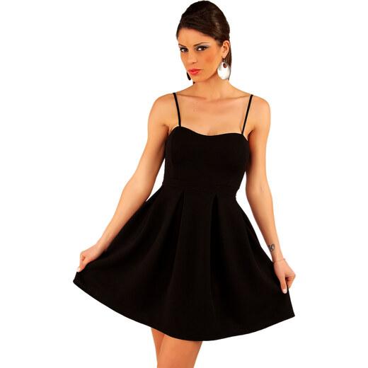 31aa4553956 Koktejlové šaty Kevin Italy - černé - Glami.cz