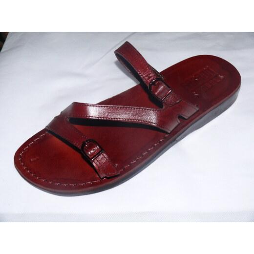 3580660b23c6 Kožené sandály 208 Tao - bez klínu - Glami.cz