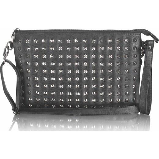 37857f9fa1 Listová kabelka Detail - čierna - Glami.sk