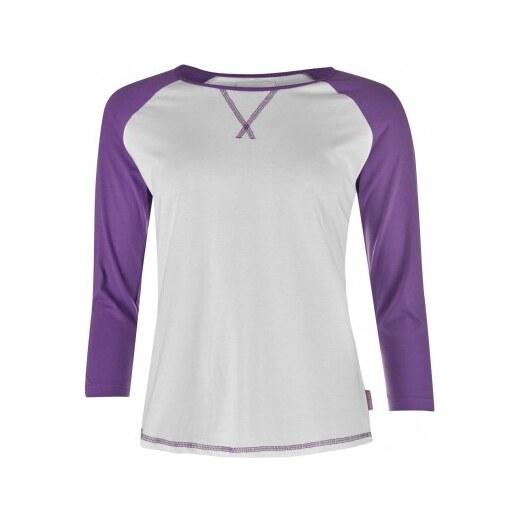 eb64a2f4be61 Miss Fiori Three Quarter Raglan Shirt Ladies