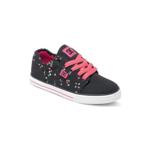 DC Shoes Dětské boty DC Tonik Tx Se black  pink - Glami.cz 238b971aee