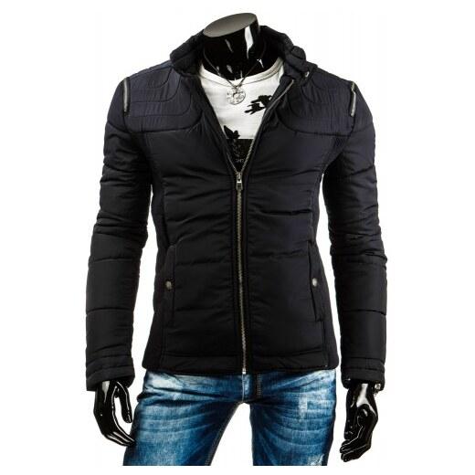 Pánská bunda Guapo černá AKCE - černá - Glami.cz b27e715e7f