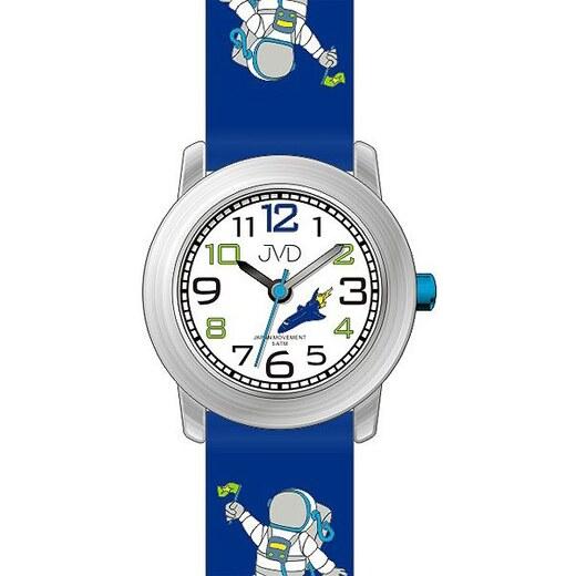 Dětské modré chlapecké hodinky JVD J7154.1 s kosmonautem - Glami.cz ed1a4ecf86