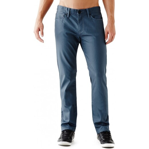 9cb5a351245 GUESS Rockford Coated Slim Straight Jeans - coated wash 32