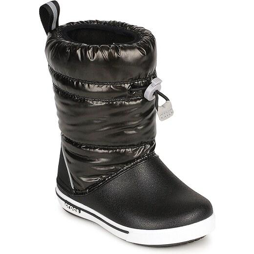 Crocs Zimní boty Dětské CROCBAND™ IRIDESCENT GUST BOOT KIDS Crocs - Glami.cz 10d2c47b7b