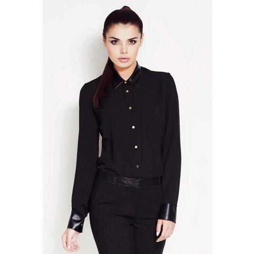 Awama Černá košile A50 - Glami.cz 54b3f9bd6a
