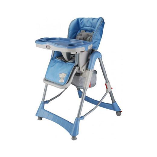 7a0c14d71236 BabyGO Detská jedálenská stolička Maxi - modrá - Glami.sk