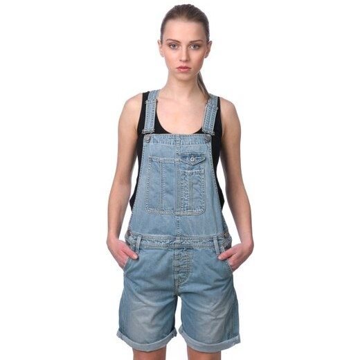 Pepe Jeans dámské jeansové lacláče Sugar XS modrá - Glami.cz 6d73407cd1