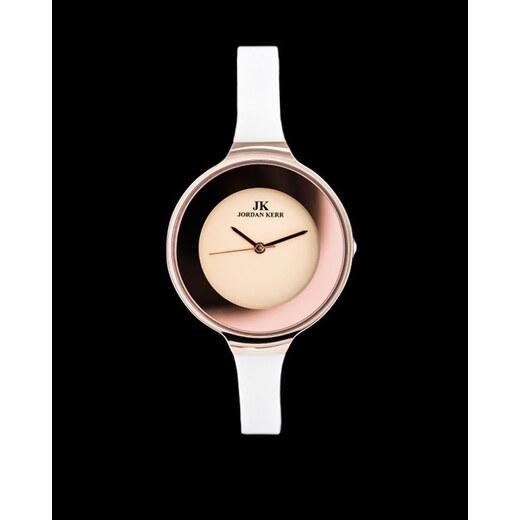 d2570380e1cf Dámske biele hodinky Jordan Kerr Leger - Glami.sk