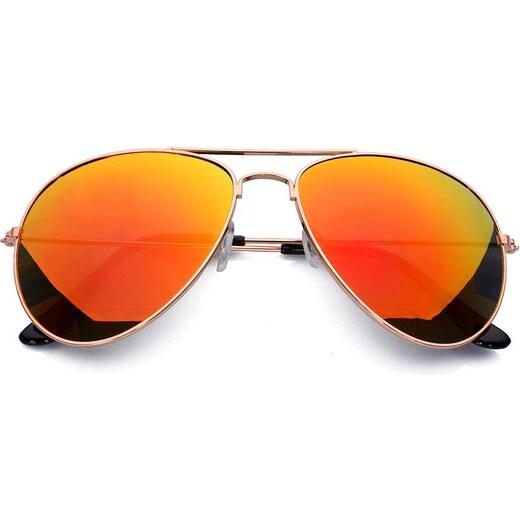 1ea5ef209 Pánské dámské sluneční brýle pilotky Born86 BN0355 - Glami.cz