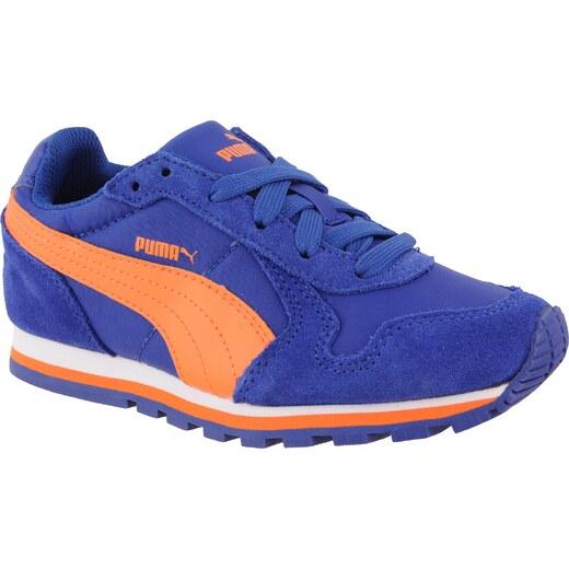Puma Chlapčenské bežecké tenisky ST Runner NL - oranžovo-modré - Glami.sk 47735a6e9f4