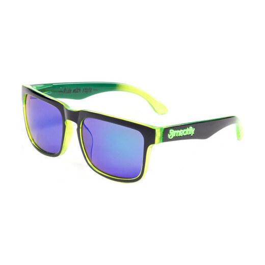 027a95650 Meatfly Slnečné okuliare Sunrise E - Black / Green - Glami.sk