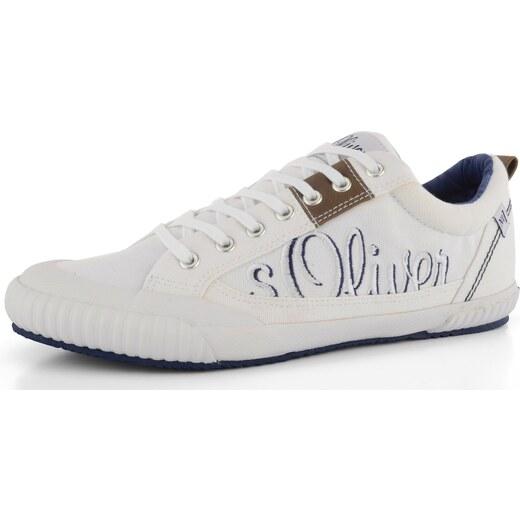 s.Oliver pánské tenisky bílé 5-13616-26 - Glami.cz f429e48651