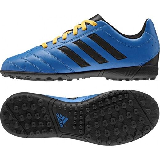 Kopačky turfy adidas Performance Goletto V TF J (Modrá   Černá   Žlutá) -  Glami.cz e9108c9958