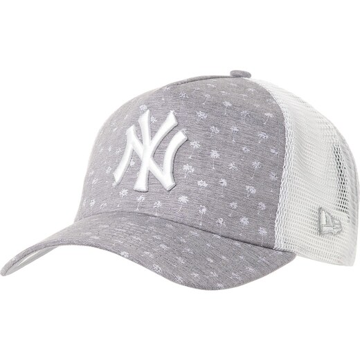 finest selection 3351f 3c7fe New Era New York Yankees 9Forty Micro P. grey white - Glami.cz