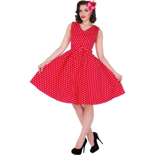 01fa478a9ff Dolly and Dotty retro šaty s puntíky Wendy