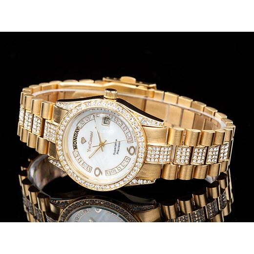 A Yves Camani YC1043-C unisex hodinky s kamínky - Glami.cz c309674955
