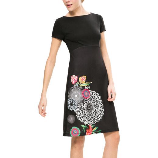 Desigual černé šaty Martina - Glami.cz e548f69bde