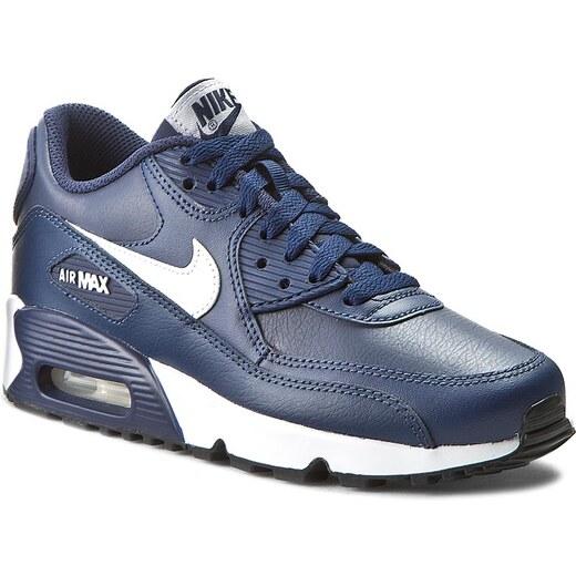 Boty NIKE - Nike Air Max 90 Ltr (Gs) 833412 400 Midnight Navy White Black -  Glami.cz 3eb7619060