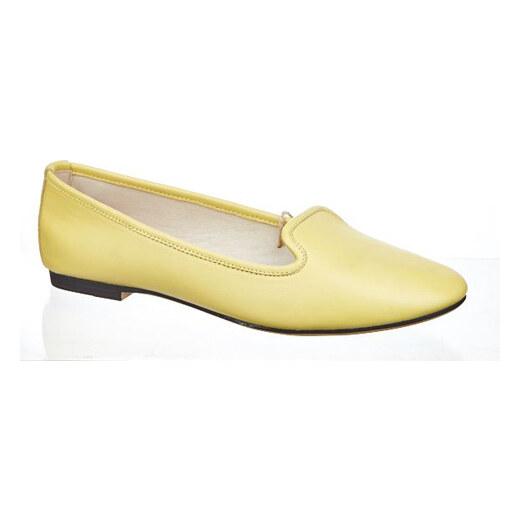 9a71b3905b Keddo Dámské balerínky 857271 05-15W yellow - Glami.cz