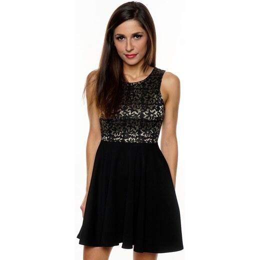7bc8da36413 DIVA Dámské společenské šaty FIFI BLACK Barva  Černá
