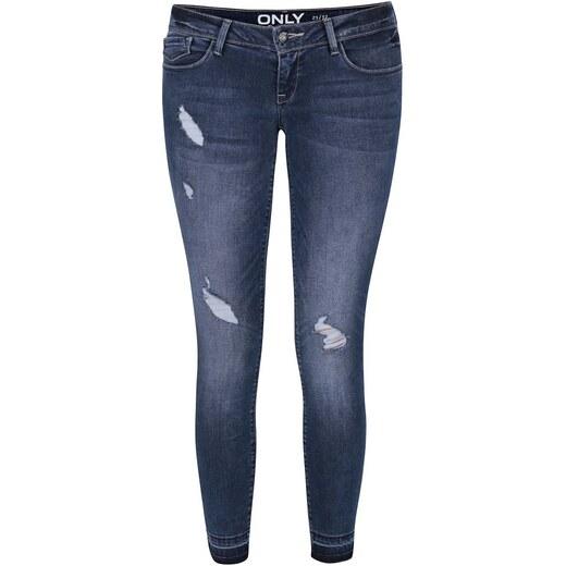 05cfd72e4d1 Tmavě modré skinny džíny s nízkým pasem ONLY Coral - Glami.cz