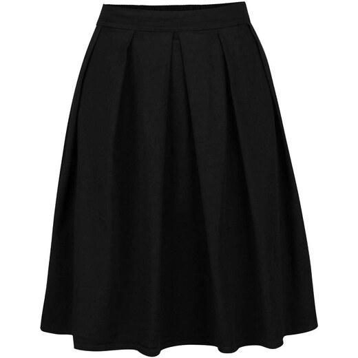 Černá skládaná sukně ZOOT - Glami.cz f54ba5ce27