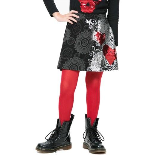 Desigual farebná dievčenské sukňa Genis - Glami.sk c90b7d737fa