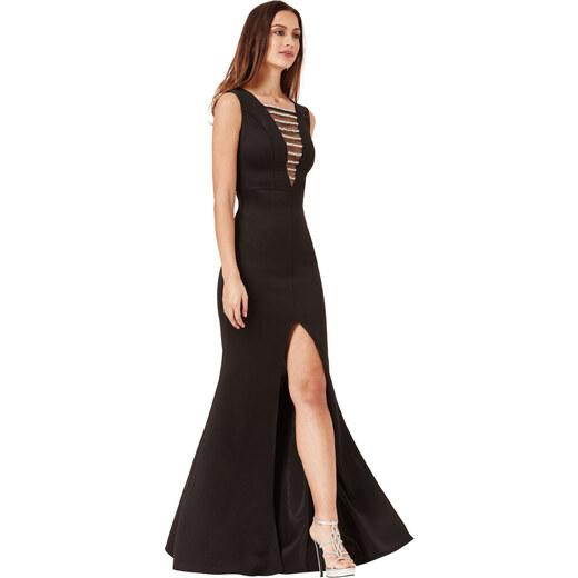 Goddiva Černé šaty Shanty - Glami.cz 4e92ef7c3c