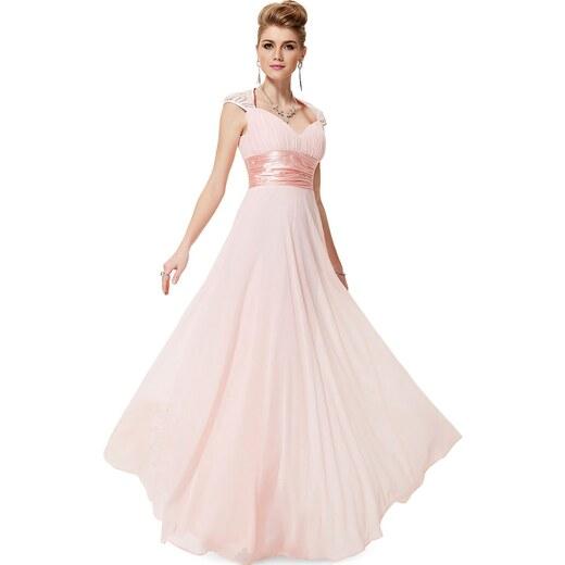 b4c07cac4d93 Ever-Pretty Růžové šifonové šaty inspirované antikou - Glami.cz