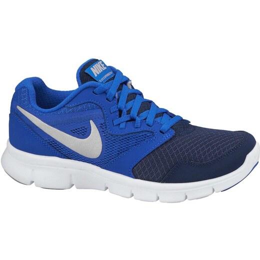 Dětské běžecké boty Nike FLEX EXPERIENCE 3 (GS) LYN BL MTLLC SLVR-MID  NVY-WHIT - Glami.cz 5e7ab6caa7
