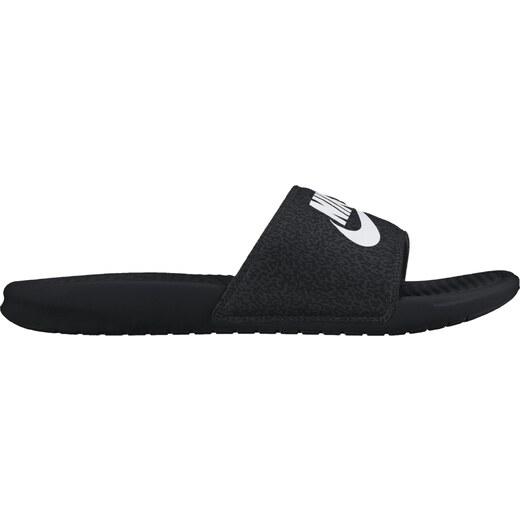 Pánské nazouváky Nike BENASSI JDI PRINT BLACK WHITE-ANTHRACITE - Glami.cz 299c883965