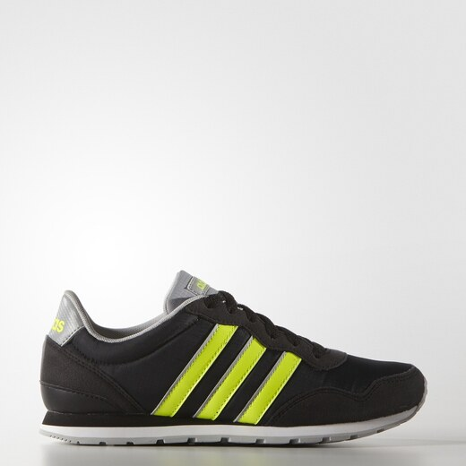 adidas Performance Dětské tenisky adidas V JOG K CBLACK SYELLO CLONIX -  Glami.cz 7c04c56c0d