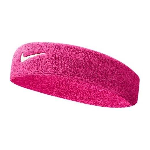 Dámská růžová čelenka Nike Swoosh Headband VIVID PINK WHITE - Glami.cz 78a0aa783a
