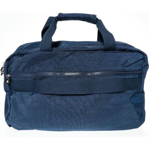 bb9b270048 VENCA Unisex športová taška s vreckami modrá - Glami.sk