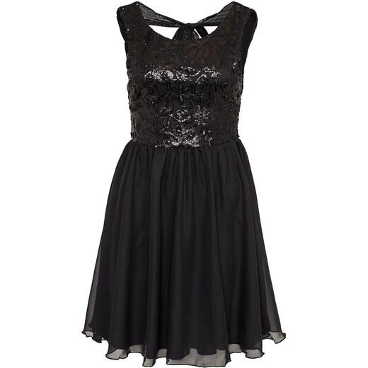 ee28878bf05 NoName 001 Dámské společenské šaty - černé flitry - Glami.cz