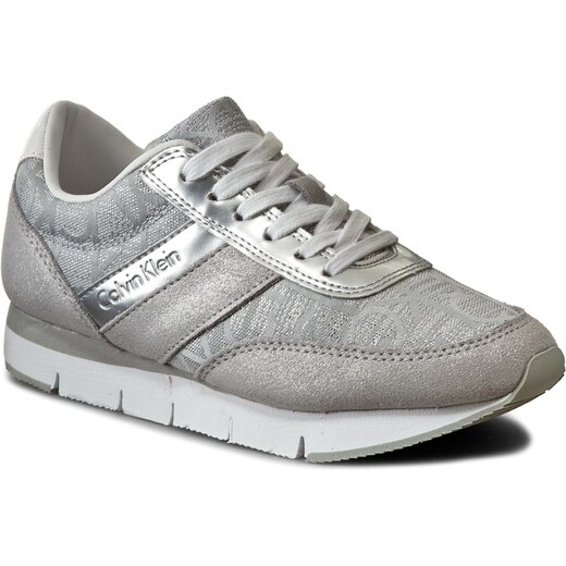 c0744cf2e2f Sneakersy CALVIN KLEIN JEANS - Tea RE9644 Light Silver - Glami.cz