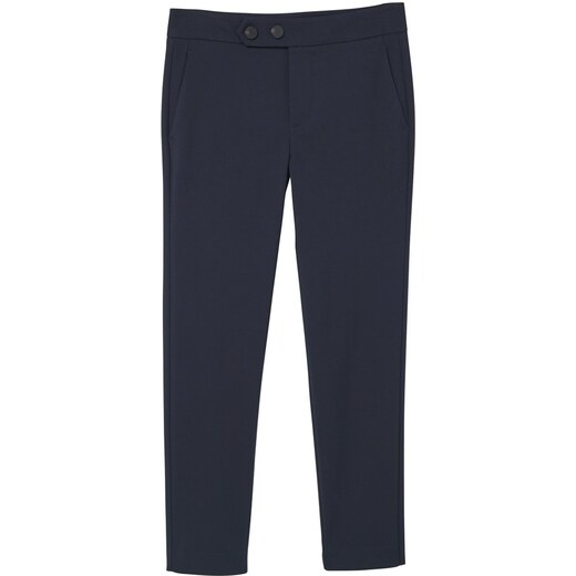 5516f8eee930a Navy Alano Dark Mango Pantalon Classique w0dnI7