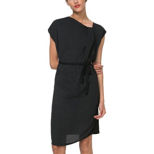 d354cb2e83a Desigual černé šaty Ecuador - Glami.cz