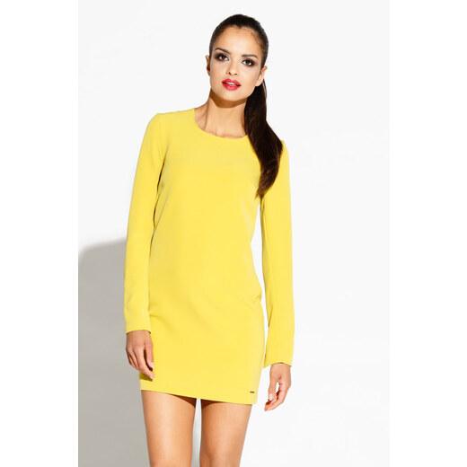 1f15b0e016a4 Dursi Žlté šaty Miko - Glami.sk