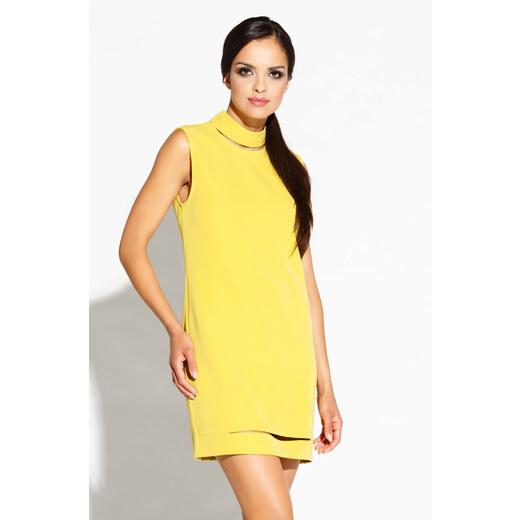 5989e7f5ff8c Dursi Žlté šaty Brax - Glami.sk