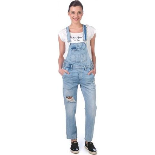 Pepe Jeans dámský overal Jodie S modrá - Glami.cz 1c747574c8
