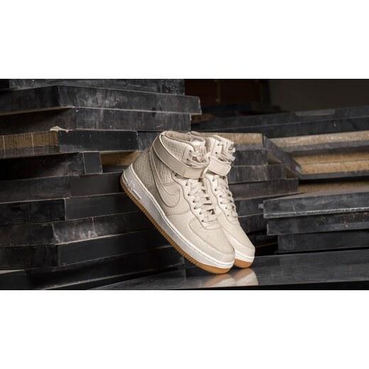 4903280206 Nike Wmns Air Force 1 Hi Premium Oatmeal  Oatmeal-Khaki-Sail - Glami.cz