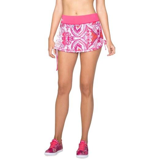 Desigual růžová sportovní sukně A Skirt P Paisley - Glami.cz 79618b3e66