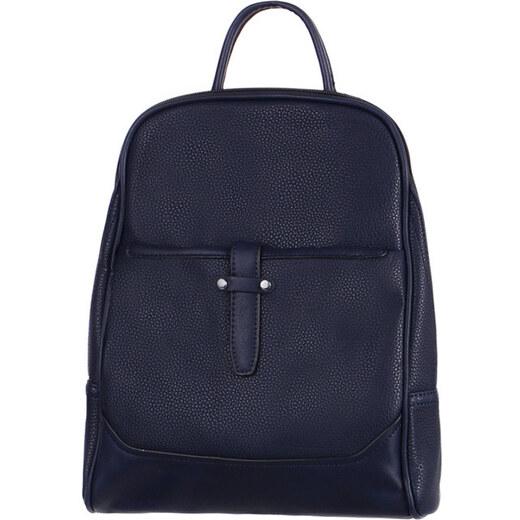 813d1d030bf TopMode Malý koženkový batoh (modrá) - Glami.cz